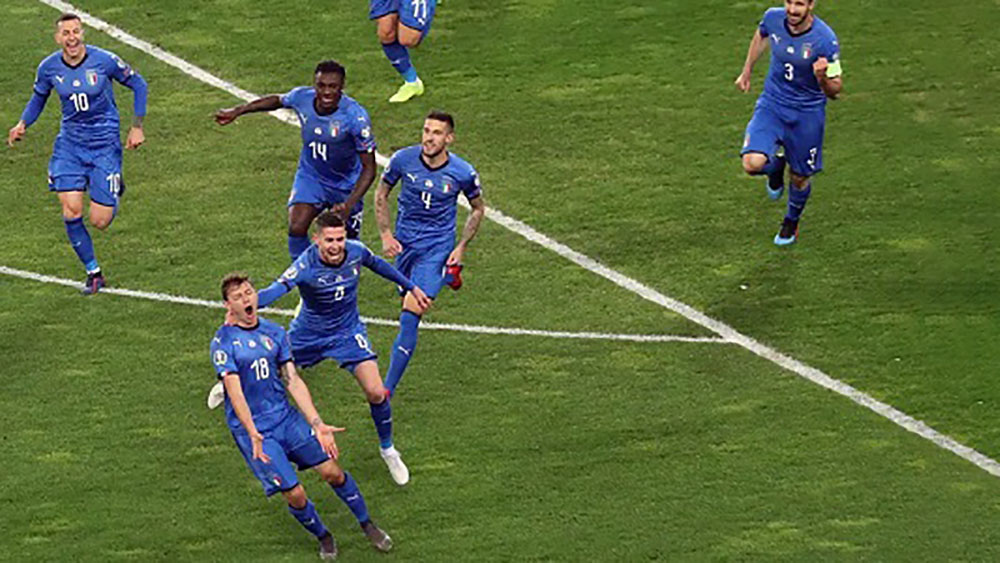 Video Highlight Italia 2-0 Phần Lan